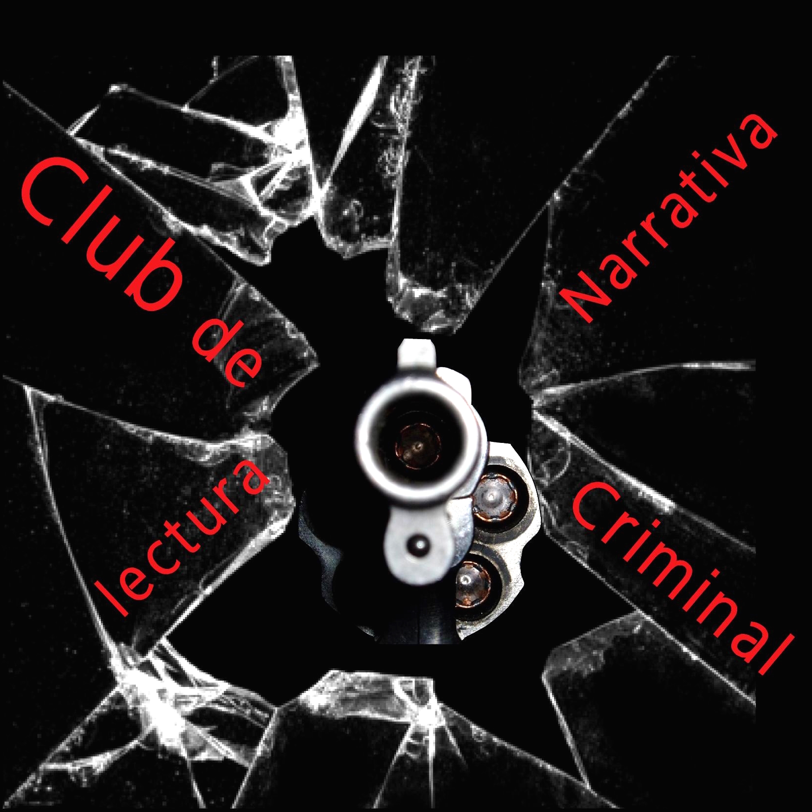 Logo Club de lectura narrativa criminal cuadrado